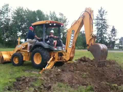 machine for digging