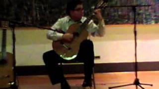 Ali  Jadbabaie performs Judea: Danza Oriental, by Luis Maravilla