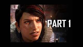 GEARS 5 Gameplay Walkthrough Part 1 - First 2 Hours!!! (GOW5 Let's Play)