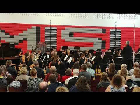 Yorkville high school - wind ensemble - Sanctuary by Frank Ticheli