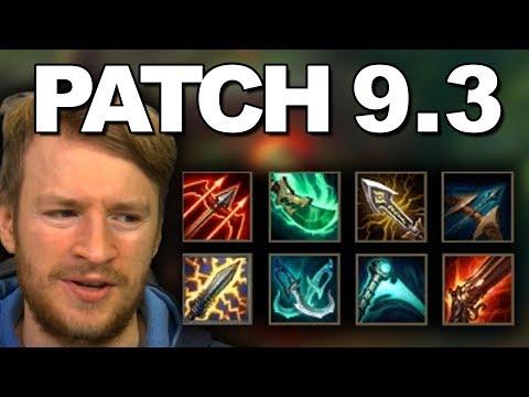 Patchnotes-Rundown 9.3 | Crit Item Changes!!! [Deutsch]