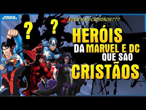 HERÓIS DA MARVEL E DC QUE SÃO CRISTÃOS