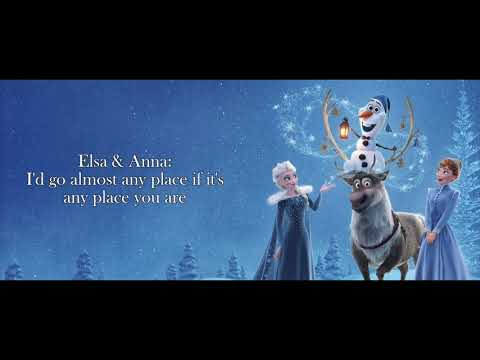 When We're Together Instrumental Sing With Elsa - Olaf's Frozen Adventure | Winnie Su (Cover)