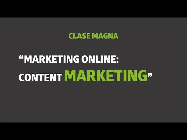 Marketing Online: content marketing  | UTEL Universidad