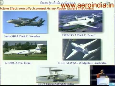 Indian Airborne Early Warning And Control System [AEWACS] [Aero India 2013]