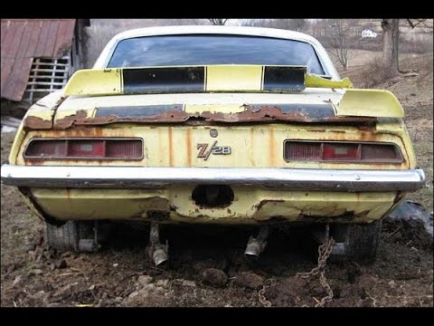 Abandoned Cars Part 2 The Muscle Cars Youtube