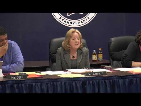 William Penn School District Board Business Meeting December 17, 2018