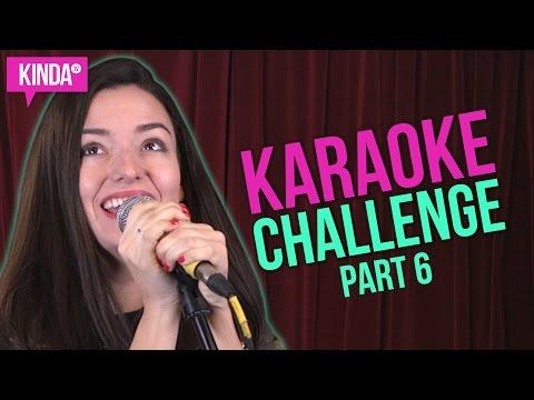 KARAOKE CHALLENGE PART 6 | KindaTV ft. Natasha Negovanlis