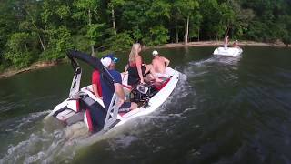 2017 Scarab jet boat almost sinks to the bottom!