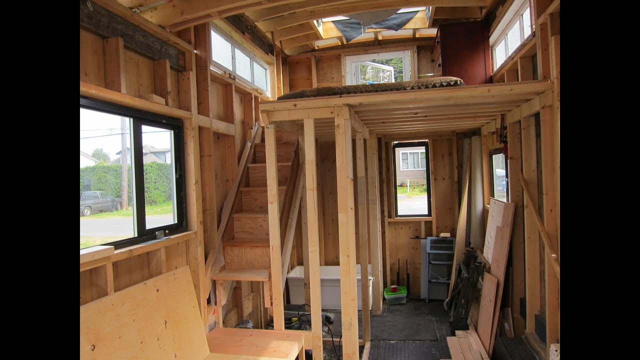 Tiny House Caboose Victoria B C Video 3 Youtube