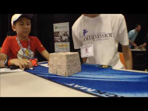 Official 9.38 3x3 Rubik's Cube Average with 7.61 Single  [National Capital Region 2016]