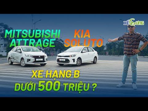 Mitsubishi Attrage và Kia Soluto: Cuộc chiến xe giá rẻ - Bạn chọn ai?