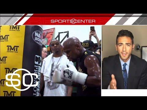 Mayweather, McGregor Get Their Wish With Glove Switch   SportsCenter   ESPN