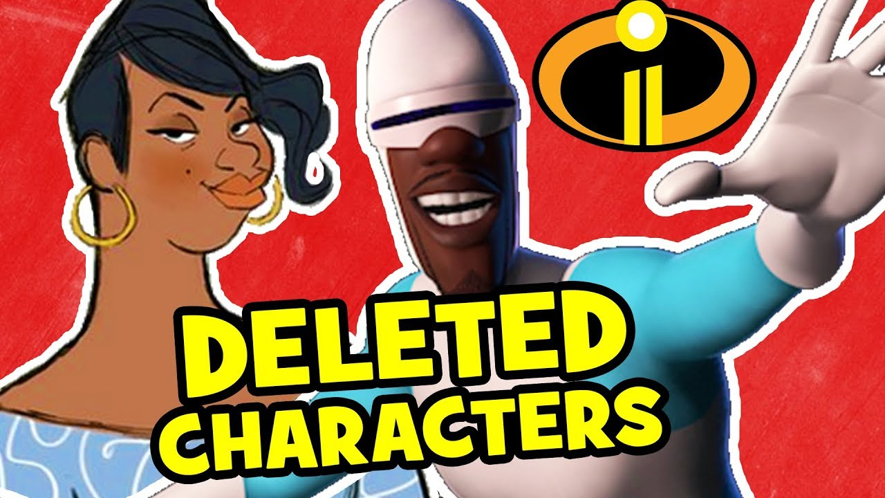 10 Characters Pixar Deleted From Incredibles 2 Youtube