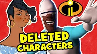 10 Characters Pixar DELETED From INCREDIBLES 2!