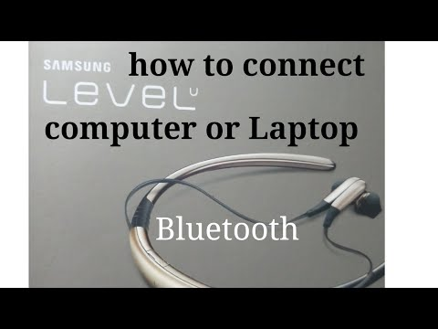 How To Connect Samsung Level U In Laptop Or Computer Youtube