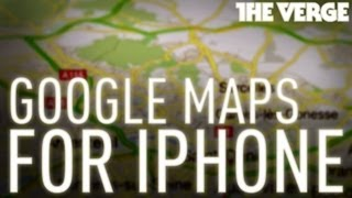Google Maps For iPhone: A First Look Free HD Video