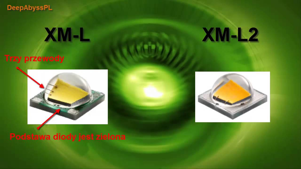 О диодах Cree XM-L, Cree XM-L2, CREE XP-L - YouTube
