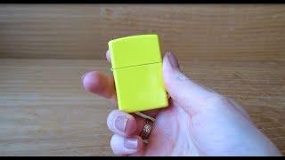 Зажигалка Zippo 24839 LEMON MATTE (Видео обзор) podarki-odessa.com