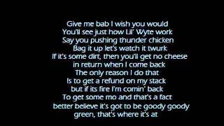 Lil Wyte - My smoking song lyrics