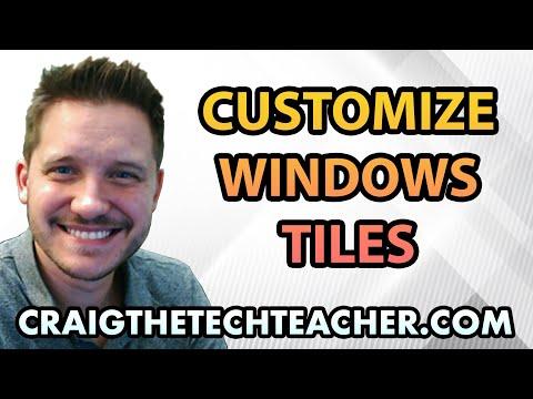 How To Arrange, Size & Categorize Windows 10 Tile Shortcuts