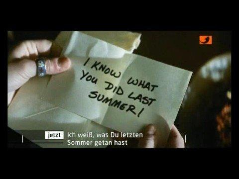 Ich Weiß Was Du Letzten Sommer Getan Hast Film