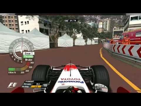 GP4 offline championship:Round 6:Monaco GP Highlights