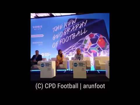 Indian Football Session at the World Football Forum 2016 in Paris