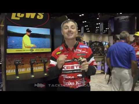 Lew's Team Lite Speed Spool Casting Reels With Mark Menedez | ICAST 2014