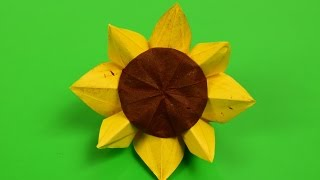 Sunflower Origami