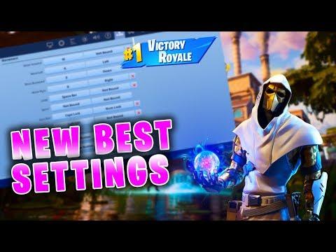 BEST Fortnite Chapter 2 Settings FPS + Sensitivity + Keybinds (PC Fortnite Best Settings)
