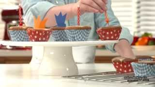Kijk Oranje-frambozencupcakes filmpje