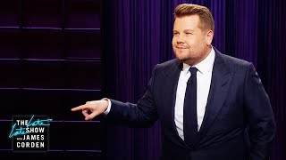 The James Corden Response to Trump