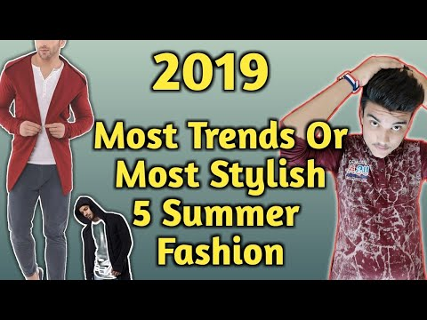 Most Stylish And Most Trends | Summer Fashion for Indian guy |in Hindi|