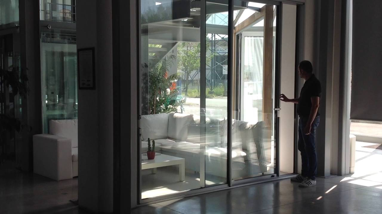 Slimline Sliding System From Sunroom Italy Youtube