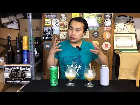 Battle Beers: Galaxy IPAs - Tree House Green vs. Trillium Permutation #44 Review - Ep. #1661