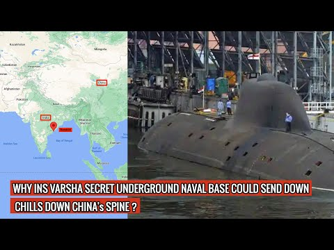 INS Varsha - an Indian underground naval base capable of withstanding nuclear attack !