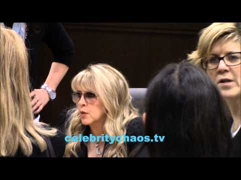 Stevie Nicks rocks out with her fans at the Grove