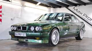BMW e34 Alpina B10 BiTURBO Detailed To Perfection!