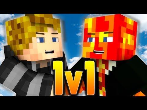 THE REAL 1v1 - Kenny vs Preston! | Minecraft