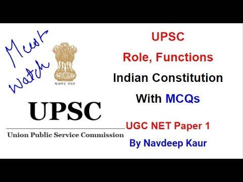 nta-net-paper-1-|-upsc-role,-functions-indian-constitution-with-mcqs