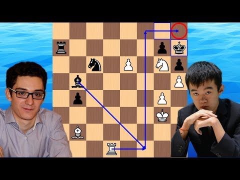 A Sneaky h-pawn   Fabiano Caruana vs Ding Liren   2018 Candidates Chess Tournament