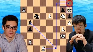 A Sneaky h-pawn | Fabiano Caruana vs Ding Liren | 2018 Candidates Chess Tournament
