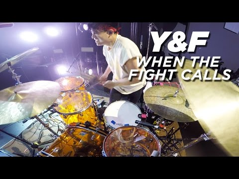 When The Fight Calls | DRUMS | Hillsong Y&F Live