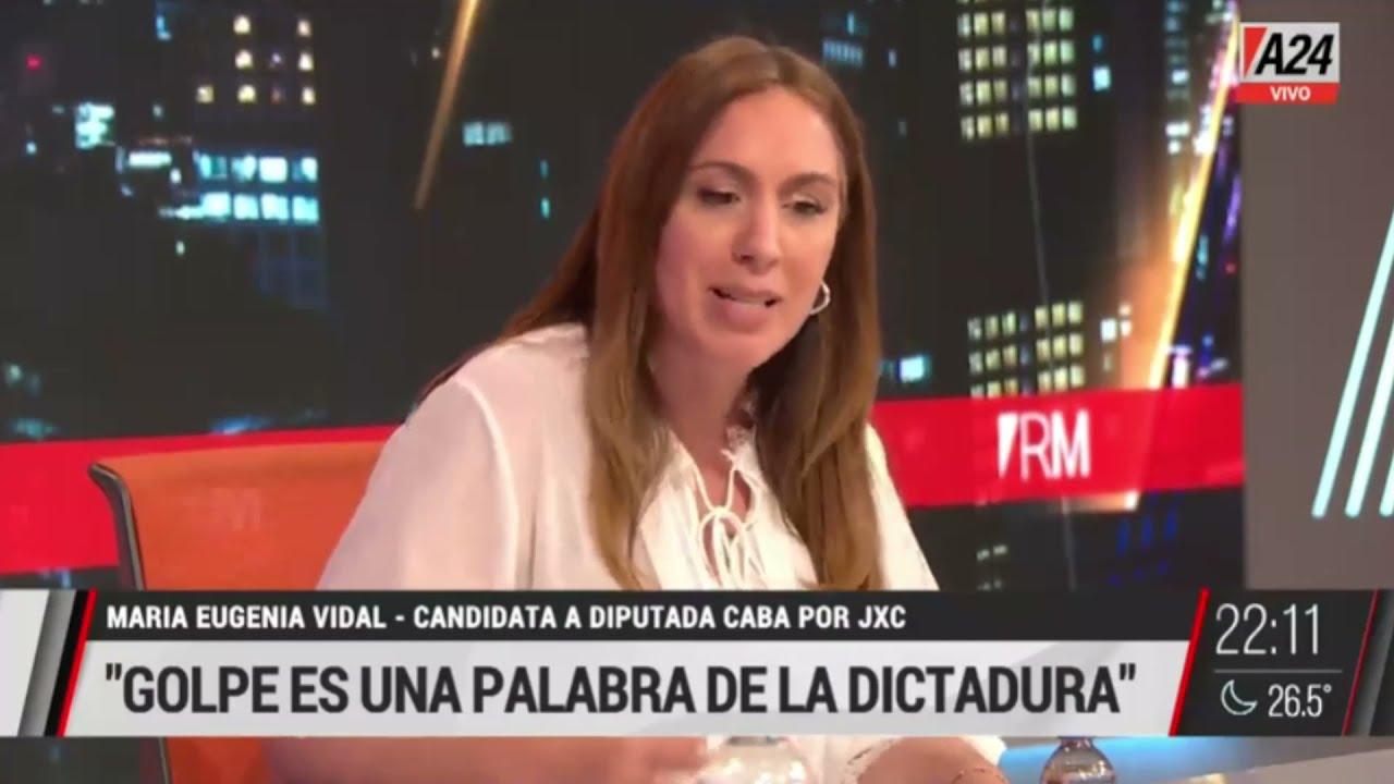 Download Romina Manguel mano a mano con María Eugenia Vidal - #RM (26/10/2021)