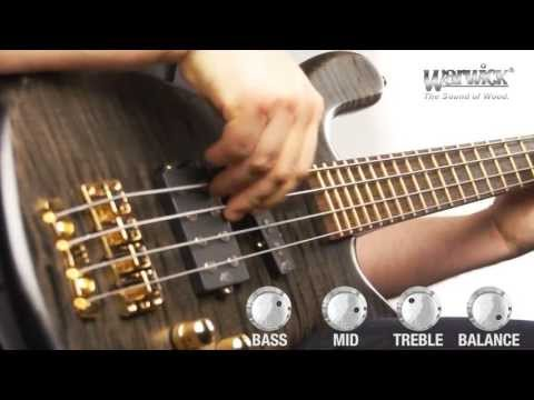 The Warwick Streamer Jazzman 4-String - Product Demo With Ove Bosch
