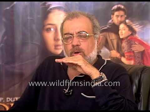 J. P. Dutta, Indian filmmaker speaks about his film 'Refugee'