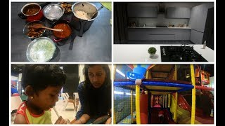 Saturday and sunday vlog/custard ice cubes/Mutton chops/A day with Amma samayal and bhuvan vlogs
