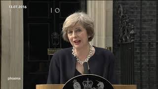 Brexit: Antritt von Theresa May als Premierministerin am 13. Juli 2016