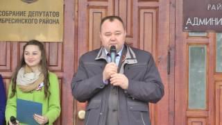 Акция Георгиевская ленточка в Ибресинском районе